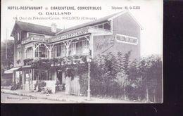 Saint Cloud Hotel Charcuterie Comestibles G Dailland  Ami De Santos Dumont   68 Rue Quai Du President Carnot - Saint Cloud