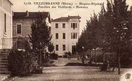 VILLEURBANNE  Hospice-Hôpital  Pavillon Des Vieillards. Hommes.  Très Bon état - Villeurbanne