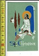KL 3842 - IMAGE RELIGIEUSE - VERSO BLANCO - ANGE MICHAEL - LYON - Santini