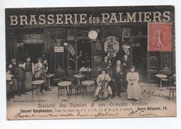 MARSEILLE (13) - BRASSERIE DES PALMIERS ET SON ORCHESTRE VENITIEN - COURS BELSUNCE 14 - Autres