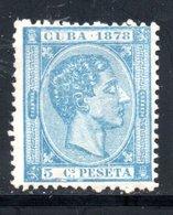 CUBA  1878 / YT N° 22 NEUF SANS GOMME - Cuba (1874-1898)