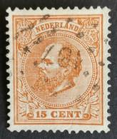 Nederland/Netherlands - Nr. 23G Met Puntstempel 107 - Used Stamps