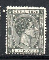 CUBA  1879 / YT N° 28 NEUF SANS GOMME - Kuba (1874-1898)