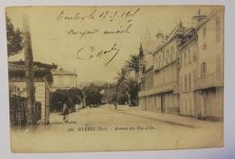 Hyeres 1905 .avenue De La Gare E16 - Hyeres