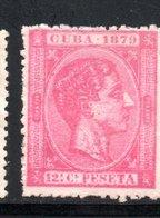 CUBA  1879 / YT N° 30 NEUF SANS GOMME - Kuba (1874-1898)
