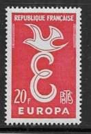 Maury 1173 - 20 F Europa - * - Francia
