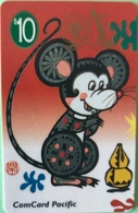 NAURU  -  Card  -  FAKE  -  ComCard Pacific  -  The Year O The Rat  -  $10 - Nauru