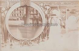 CARTE PHOTO BEZIERS 7 ALLEE PAUL RIQUET GRAND HOTEL DE LA PAIX (Monoprix Aujourd'hui) - Beziers