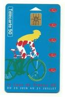 Francia - Tessera Telefonica Da 50 Units - Tour De France - T654 - Sport