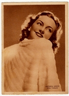 ATTORI - ATTRICI - ANDREA LEEDS (FOTO COBURN) - Rizzoli & C. - Milano, 1940-XVIII - Vedi Retro - Attori