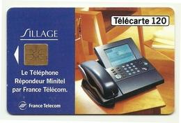 Francia - Tessera Telefonica Da 120 Units - Telefoni - T655 - Telefoni