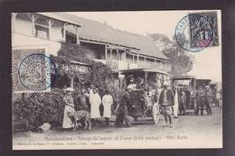 CPA Poste Facteur Courrier Automobile Madagascar Manjakandriana Timbré Non Circulé - Post