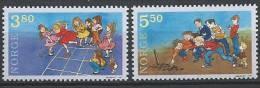 Norvège 1998 N°1247/1248 Neufs** Jeux D'enfants - Unused Stamps