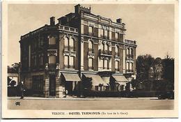 Verdun:Hotel Terminus (En Face De La Gare) - Verdun