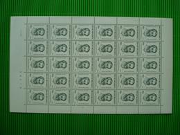 Volledig Postfris Zegelvel Zegels**1824** - Full Sheets