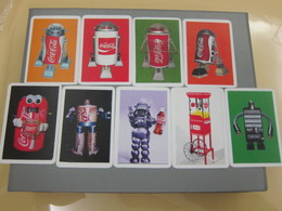 Coca Cola 2014 Calendar Cards,7 Different - Telefoonkaarten