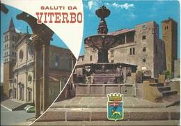 Cartolina - Saluti Da Viterbo - Viag. 1991 Per Garbagnate Milanese - Viterbo