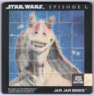 Puzzle Riddle STAR WARS Episode 1 De 1998 Neuf Composé De 35 Pièces Amovibles + Un Arrêt ( Jamais Utilisé ! ) - Puzzles