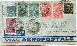 BRESIL LETTRE PAR AVION VIA - AEROPOSTALE DEPART MARANHAO 21 MAR 1932 POUR LA FRANCE - Luchtpost