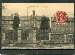 CPA - GUINGAMP - L'Entrée De L'Hôpital - Guingamp