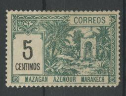 Maroc Postes Locales (1897) N 37 (charniere) - Marruecos (1891-1956)
