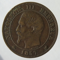 F10751.1 - FRANCE - 2 Centimes Napoléon III - 1857 W - France