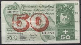 Suisse : 50 FS 4 Mai 1961. Je Vous Laisse Juger De Son état. KM N° 48a - Suiza