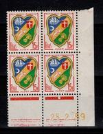 Coin Daté YV 1195 N** Du 25.2.59 , 1 Point - Ecken (Datum)
