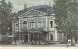 74 Haute SAVOIE Théatre Et Café Du Théatre D'ANNECY Carte Colorisée - Annecy