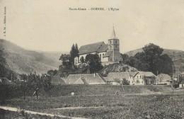 CARTE POSTALE ORIGINALE ANCIENNE : ODEREN L'EGLISE  HAUT RHIN  (68) - Autres Communes