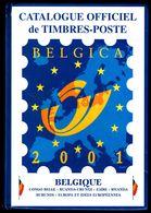 Catalogue C.O.B. 2002 FR - Belgique, Congo Belge, Ruanda-Urundi, Zaïre, Rwanda, Burundi, Kasaï, Europa, Idée Européenne - Belgique