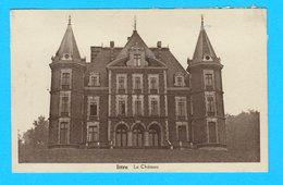 CPA ITTRE : Le Château ( Non Circulée ) - Imprimerie A. Denuit-Simonet - 2 Scans - Ittre