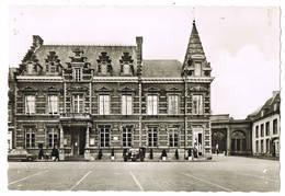 Enghien: Hôtel -de-Ville Et Entrée Du Parc ( 2 Scans) - Enghien - Edingen