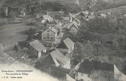 CARTE POSTALE ORIGINALE ANCIENNE : STORKENSOHN VUE PARTIEL DU VILLAGE  HAUT RHIN  (68) - Autres Communes