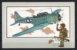 """Tintin : Chromo """" Voir Et Savoir """" Par Hergé : Aviation Guerre 1939-1945 : N° 29 Editions DARGAUD. - Autres"""