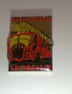 """PIN'S POMPIERS """" Association LA ROSALIE """" - Bomberos"""