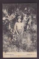 CPA Laos Indochine Asie Type Raquez écrite Nu Féminin Nude Femme Nue - Laos