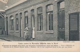 Lille Mortalité Infantile Dans Le Nord Vue 4 Roubaix Rare Tbe - Lille