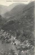 CARTE POSTALE ORIGINALE ANCIENNE : STORKENSOHN ET LE ROUGE GAZON  HAUT RHIN  (68) - Autres Communes