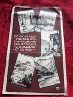 1923-  S.N.C.F CHEMINS DE FER De PARIS à ORLÉANS Et Du MIDI Plans Réseaux Schémas De Lignes VOIR RÉGIONS DESSERVIES - Europe