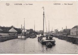 Louvain Le Canal Péniche - Leuven