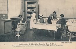 Lille Lutte Contre La Mortalité Infantile Dans Le Nord Vue 11 Seclin Rare Tbe - Lille