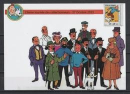CP Tintin : 23ème Journée Des Collectionneurs - 27 Octobre 2019. - Bandes Dessinées