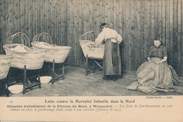 Lille Lutte Contre La Mortalité Infantile Dans Le Nord Vue 12 Wasquehal Rare Tbe - Lille