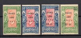 !!! PRIX FIXE : ST PIERRE & MIQUELON,N°286/287 ET 289/290 NEUFS ** - St.Pierre & Miquelon