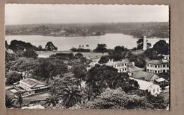 CPSM COTE D'IVOIRE - Côte D'Ivoire - ABIDJAN - Baie De COCODY - TB PLAN Aérien D'un Quartier Avec Détails Habitations - Côte-d'Ivoire
