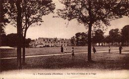 PORT LOUIS Les Pâtis Et L'hôtel De La Plage   Francia. France. - Port Louis