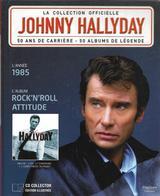 "LIVRE + CD  Johnny Hallyday  ""  Rock'n'roll Attitude  "" - Non Classés"