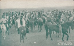 Indians Gathering To Attack Settlers, 20-30s - Indiens De L'Amerique Du Nord