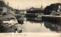 PORT LOUIS Les Pâtis Et L'hôtel De La Plage   Francia. France. - Quimperlé